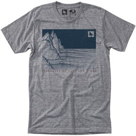 Hippy Tree Nightbreak T-shirt Homme, heather grey